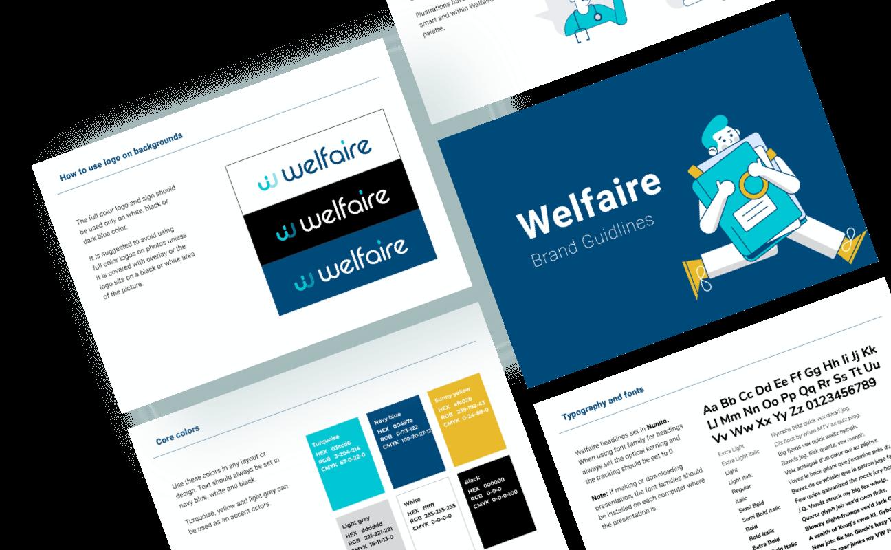 Welfaire. Brand book